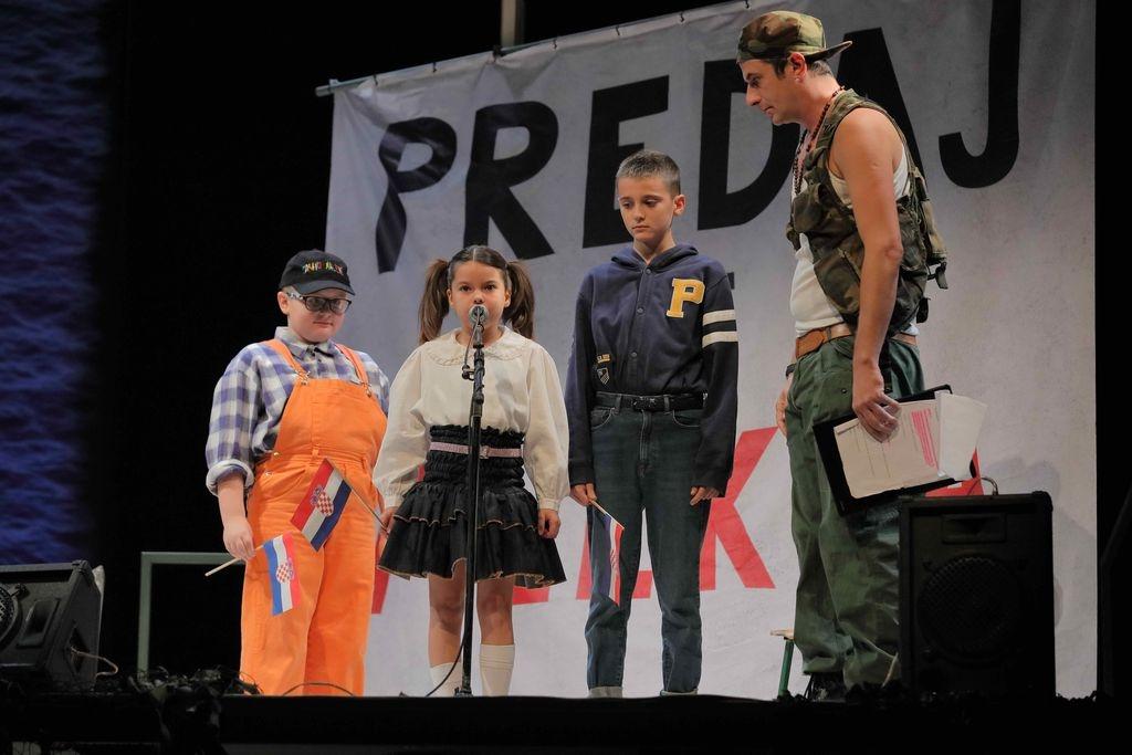 Gostovanje predstave 'Kako je počeo rat na mom otoku' u pulskom INK-u